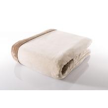 Gözze Seiden Feeling Decke weiß 150 x 200 cm