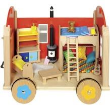 Gollnest & Kiesel Puppenbauwagen mit Zubehör