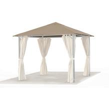 Grasekamp Ersatzdach ROMA Pavillon 3x3 Meter Sand/Beige