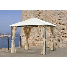 Grasekamp Pavillon Nizza 3x3m Sand
