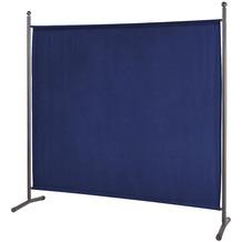 Grasekamp Stellwand 178x178cm Paravent Raumteiler  Trennwand Sichtschutz Blau Blau