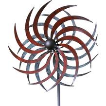 Grasekamp Windrad Garten Mallorca Metall Stahl/Bunt