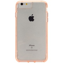 Griffin Survivor Clear for iPhone 7 Plus rose gold colored