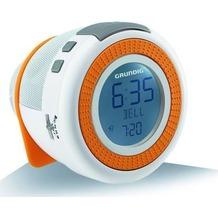 Grundig Sonoclock 230 USB, Weiss-Orange