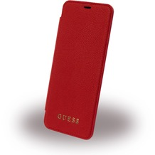 Guess IriDescent - Book Cover - Samsung G950F Galaxy S8 - Rot