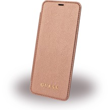 Guess IriDescent - Book Cover - Samsung G955F Galaxy S8 Plus - Rose Gold