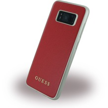 Guess IriDescent - Hardcover - Samsung G950F Galaxy S8 - Scarlet Rot