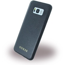 Guess IriDescent - Hardcover - Samsung G955F Galaxy S8 Plus - Schwarz