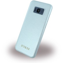 Guess IriDescent - Hardcover - Samsung G955F Galaxy S8 Plus - Silber