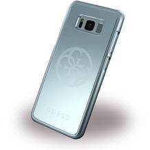 Guess Korry Aluminium Hardcover - Samsung G950F Galaxy S8 - Silber