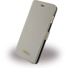 Guess Saffiano BookCover - Apple iPhone 7 Plus - Beige