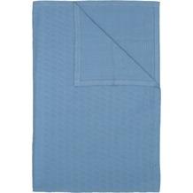 Hagemann Homefashion Tropea Überwurf blau 220x250 cm