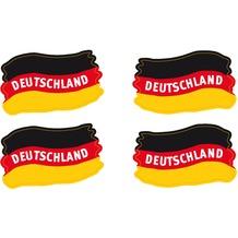 """TIB Heyne Colourface""""Deutschland-Flagge"""" 4 Colourface-Sticker/Bogen, 1 Bogen"""
