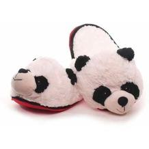 Hausschuhe Panda 35 - 37 schwarz, weis