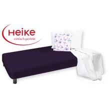 HEIKE Jersey Multistretch Spannbetttuch brombeere 90 - 100x220 cm