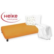 HEIKE Jersey Multistretch Spannbetttuch safran 90 - 100x220 cm