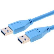 Helos USB 3.0 Kabel Stecker A auf Stecker A, 5,0 m