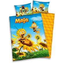 Herding Biene Maja 3D 100x135 + 40x60 cm gelb