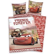 Herding Cars Bettwäsche Forever Friends mit RV / Zipper 80x80+135x200 cm