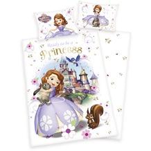 Herding Renforcé Bettwäsche Disney's Sofia die Erste 40x60 cm + 100x135 cm