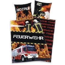 Herding Renforcé Bettwäsche Feuerwehr