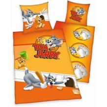 Herding Tom und Jerry Bettwäsche Renforcé 80x80 + 135x200 cm