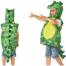 Heunec KARNEVAL Kostüm-Weste Drachen grün Größe 128