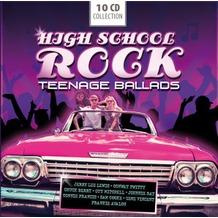 High School Rock-Teenage Ballads, CD
