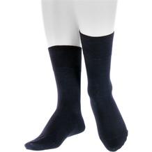 Hopp Socken, Langschaft, 200N, 35's/15 Schwarz 47-50