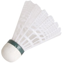 HUDORA Badmintonbälle Training, 4 Stück