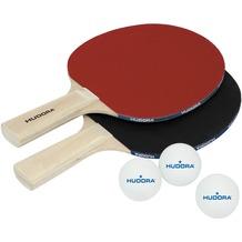 HUDORA Tischtennisset Match, 2 Schläger, 3 Bälle*