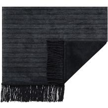 ibena Wohndecke   Messina Sofaläufer schwarz 50x200 cm