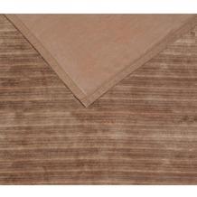 ibena Wohndecke   Solare Plata Doubleface braun 150x200 cm