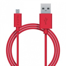 Incipio Charge/Sync Micro-USB Kabel 1m rot PW-200-RED