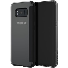 Incipio NGP Folio Case - Samsung Galaxy S8+ - transparent/schwarz