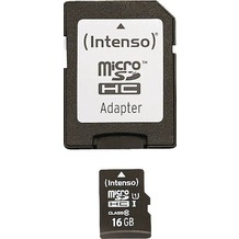 Intenso Micro SD Class 10 UHS-I, 16 GB