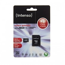 Intenso microSDHC Speicherkarte, Class10, 4 GB