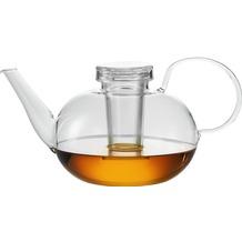 Jenaer Glas Teekanne mit Glassieb 1,5l Edition Wilhelm Wagenfeld