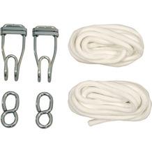 Jobek ROPE PRO Aufhängeset mit Seil und Haken (Paar)