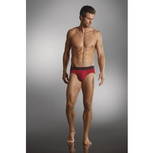 Jockey 3D-Innovations ® Brief / Slip mit Webgummibund a-red 4XL