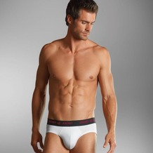 Jockey 3D-Innovations ® Brief / Slip mit Webgummibund white 4XL