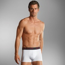 Jockey 3D-Innovations ® Short Trunk mit Webgummibund white 4XL