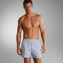 Jockey Boxer Shorts Webboxer, Kariert shirt. blue 4XL