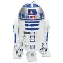 Joy Toy 21324 - Star Wars: Clone Wars Jugend-3D-Wecker in Plastik mit R2-D2 Sounds