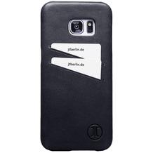 JT Berlin LederCover Style - Samsung Galaxy S7 edge - schwarz