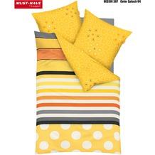 kaeppel Satin-Bettwäsche, MUST HAVE, Color Splash, gelb 135/200 cm