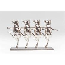 Kare Design Deko Figur Dancing Cows Rosegold