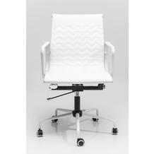 Kare Design Bürodrehstuhl Wave Weiß