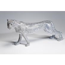 Kare Design Deko Figur Leopard Glitter 29cm