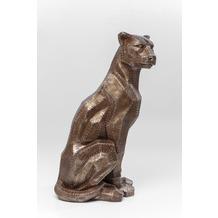 Kare Design Deko Figur Sitting Cat Rivet Copper